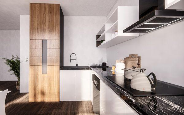 installation meuble cuisine pmr