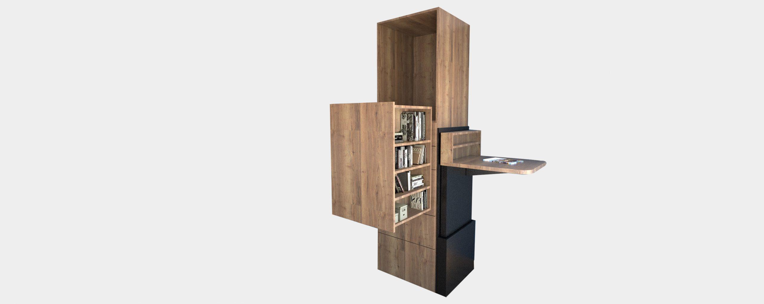 ErgoMeuble Bibliothèque